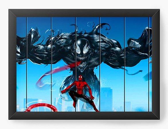 Quadro Decorativo Homem Aranha Simbionte