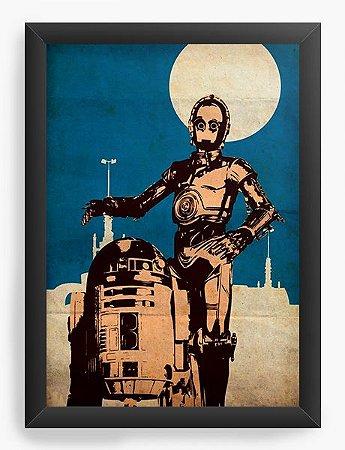 Quadro Decorativo Star Wars - R2-D2