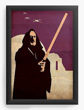 Quadro Decorativo Star Wars - Jedi