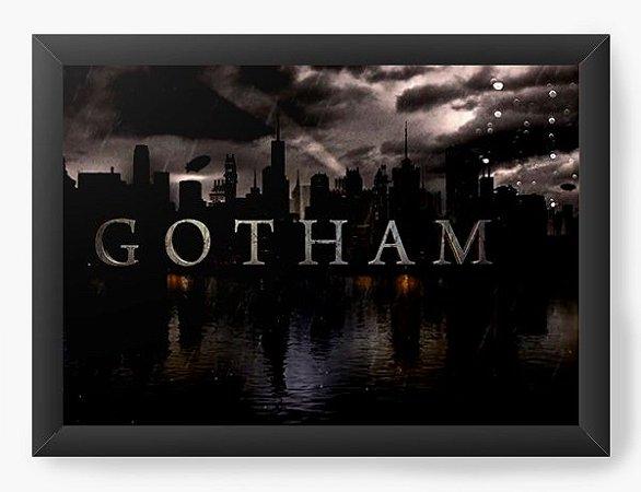 Quadro Decorativo Gotham