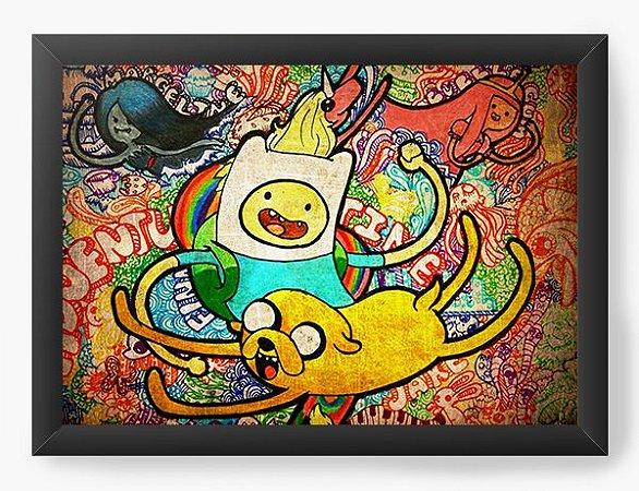 Quadro Decorativo Adventure Time