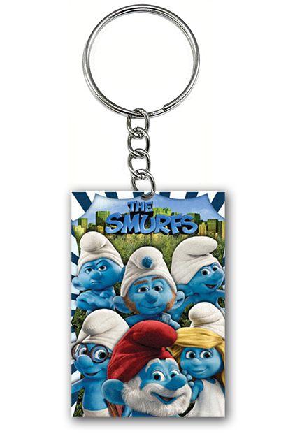 Chaveiro Os Smurfs