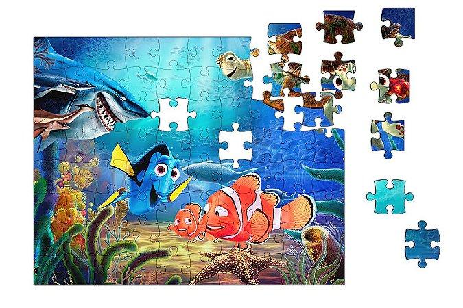 Quebra-Cabeça Procurando Nemo - Dory 90 pçs