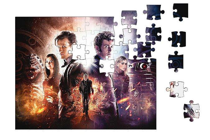 Quebra-Cabeça Doctor Who 90 pçs