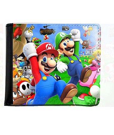 Carteira Super Mario e Luigi