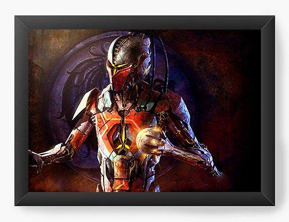Quadro Decorativo Mortal Kombat X Games