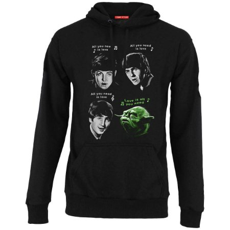 Blusa com Capuz The Beatles Yoda
