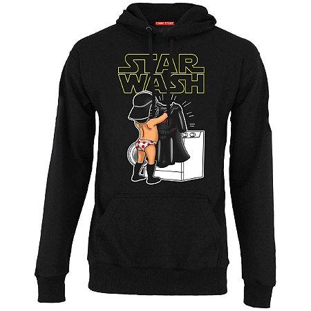 Blusa com Capuz Star Wars - Darth