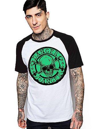 Camiseta Raglan King33 Skull Danger 1