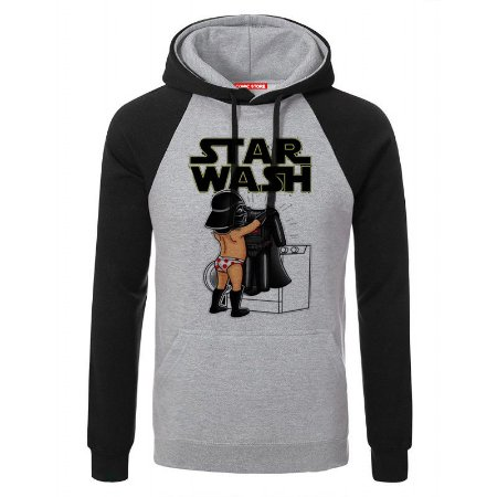 Blusa com Capuz Star Wars -Darth Wash