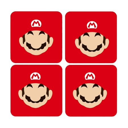 Porta Copos Super Mario Word Bros