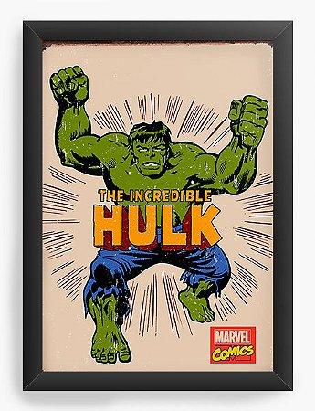 Quadro Decorativo Hulk - The Incredible