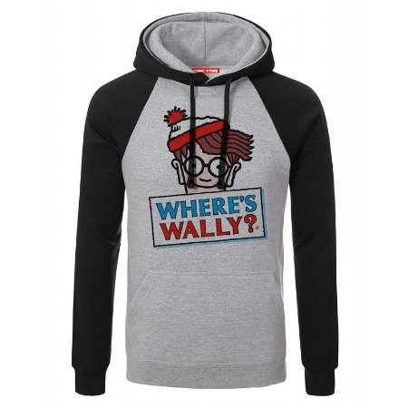 Blusa com Capuz Where's Wally ?