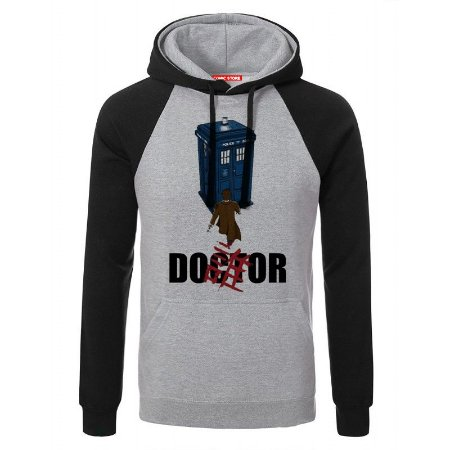 Blusa com Capuz Doctor Who