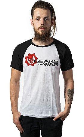 Camiseta Raglan Gears of War