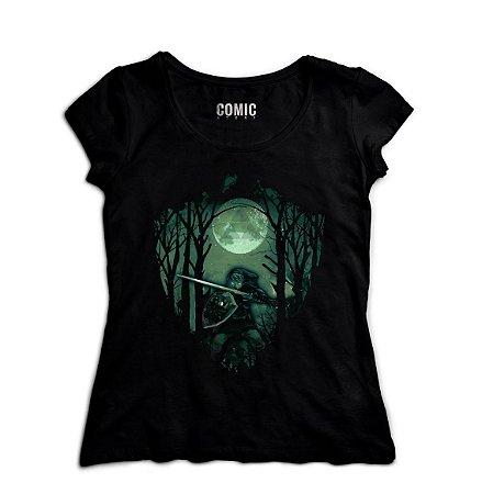 Camiseta Feminina The Legend Of Zelda Link Florest