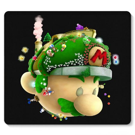 Mouse Pad Word Super Mario 23x20