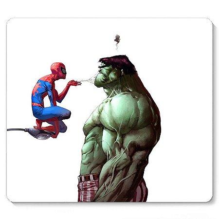 Mouse Pad Homem Aranha e Hulk 23x20
