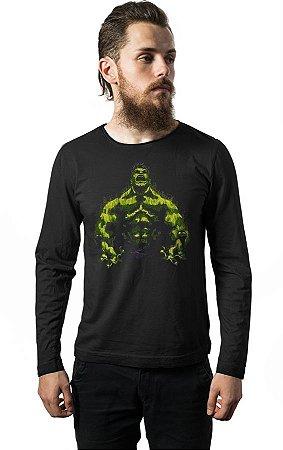 Camiseta Manga Longa Hulk