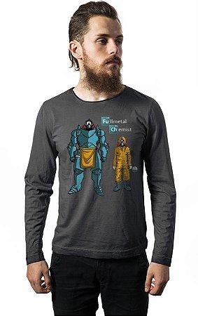 Camiseta Manga Longa Fulletal Chemist