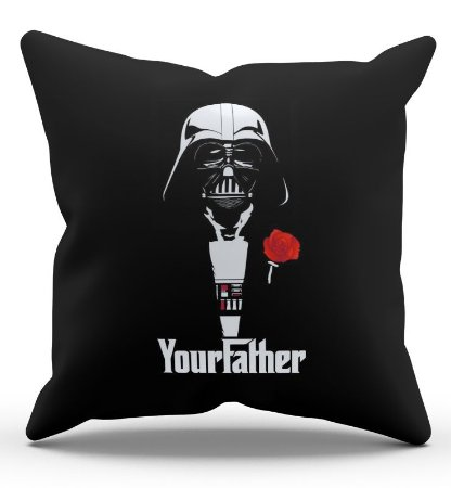 Almofada Darth Vader Your Father 45x45