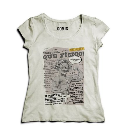 Camiseta Feminina Que Físico