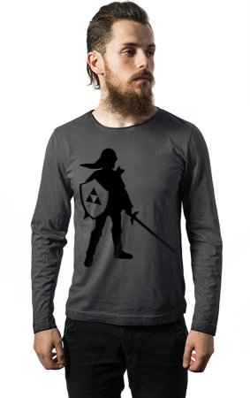 Camiseta Manga Longa Zelda