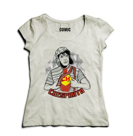 Camiseta Feminina Chaves Chespirito