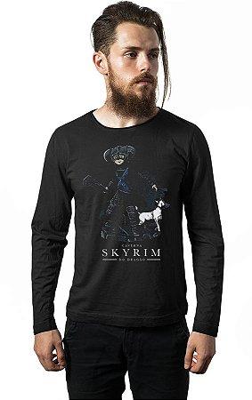 Camiseta Manga Longa Caverna do Dragão