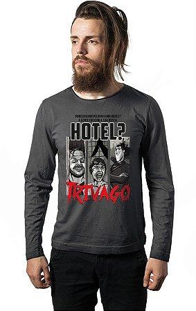 Camiseta Manga Longa Hotel Trivago