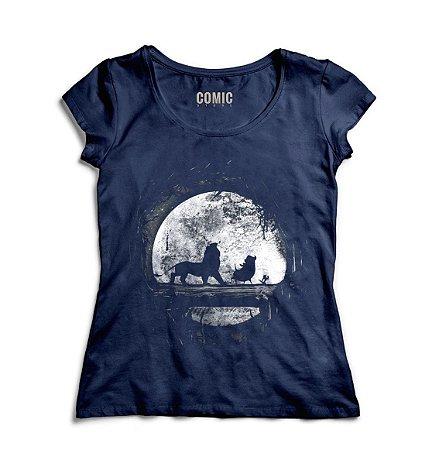 Camiseta Feminina Rei Leão