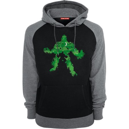 Blusa com Capuz Super Hulk