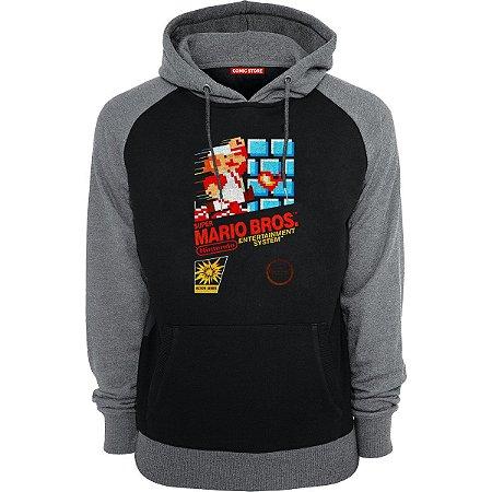 Blusa com Capuz Super Mario Bros