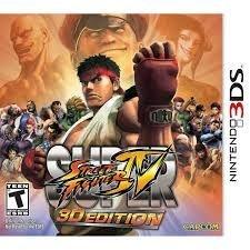Super Street Fighter Iv - 3D Edition - 3Ds