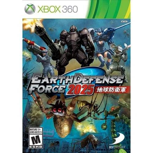 Earth Defense Force 2025 - X360