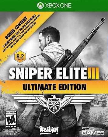 Niper Elite 3: Ultimate Edition - Xbox One