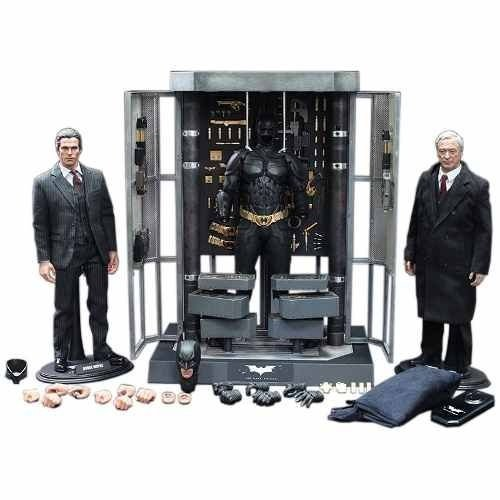 Armory Batman With Bruce Wayne And Alfred - Hot Toys 1/6