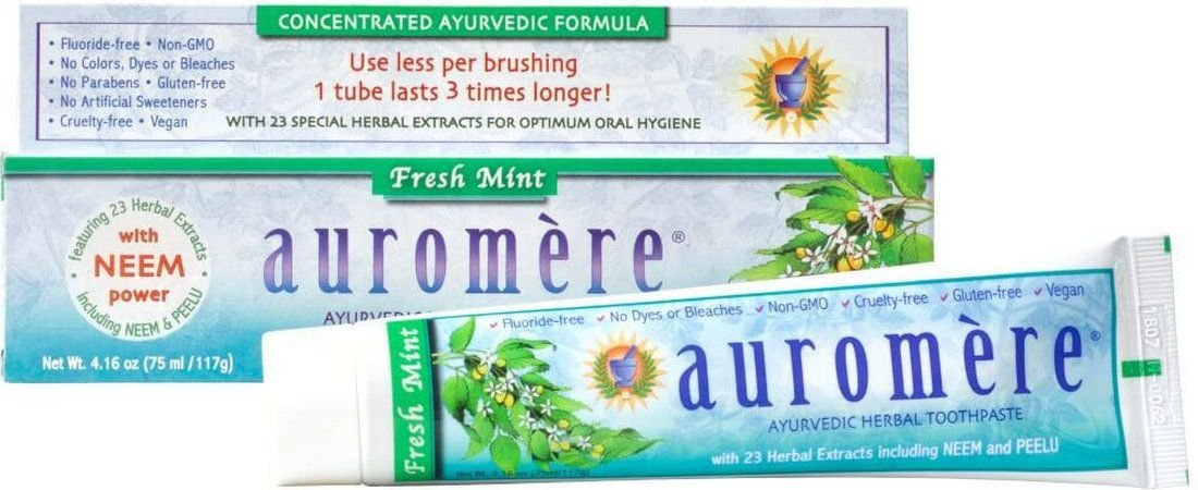 Creme Dental Auromère Fresh Mint 117 g