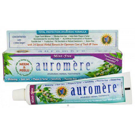 Creme dental Mint Free Auromere