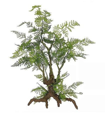 Árvore Artificial Samambaia Verde 78cm