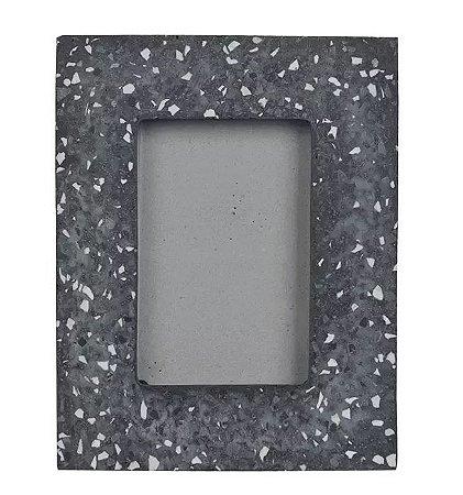 Porta-retrato Cimento Cinza Escuro 10x15cm