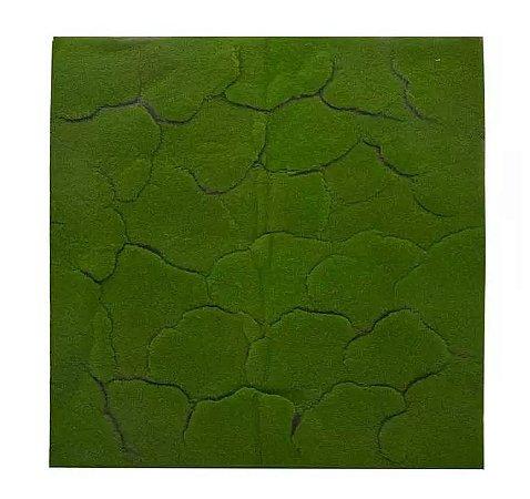 Folhagem Artificial Placa Musgo Trat. Acústico Verde Médio 1X1m