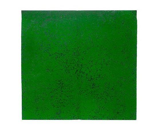 Folhagem Artificial Placa Musgo Trat. Acústico Verde Preto 1x1m