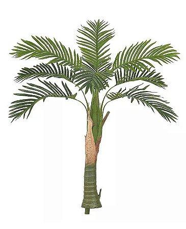 Planta Árvore Artificial Palmeira Toque Verde Escuro 1,2m
