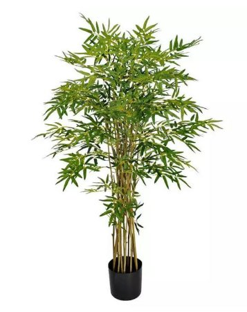 Planta Árvore Artificial Bambu Australiano Verde 1,2m