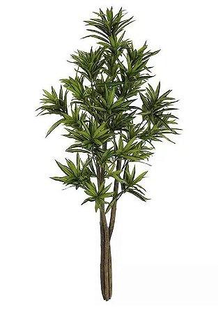 Planta Árvore Artificial Dracena Reflexa Verde 1,5m