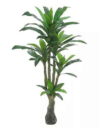 Planta Árvore Artificial Dracena Real Toque Verde 1,7m