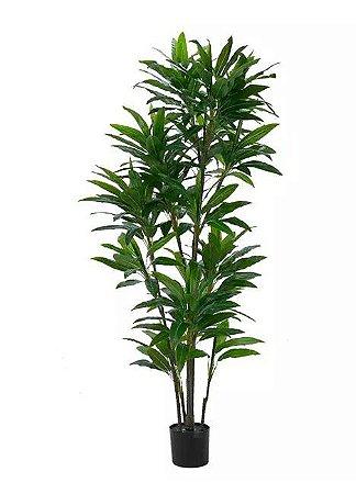Planta Árvore Artificial Dracena Verde Real Toque 1,9m