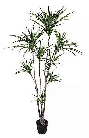 Planta Árvore Artificial Dracena Verde 1,95m