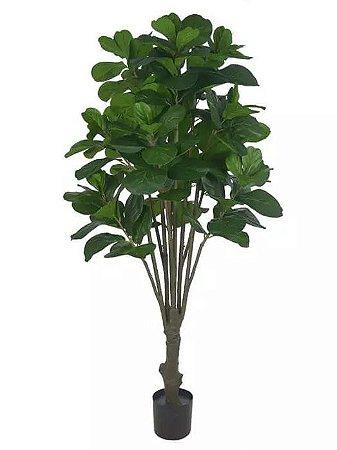 Planta Árvore Artificial Ficus Lyrata Real Toque Verde 1,8m